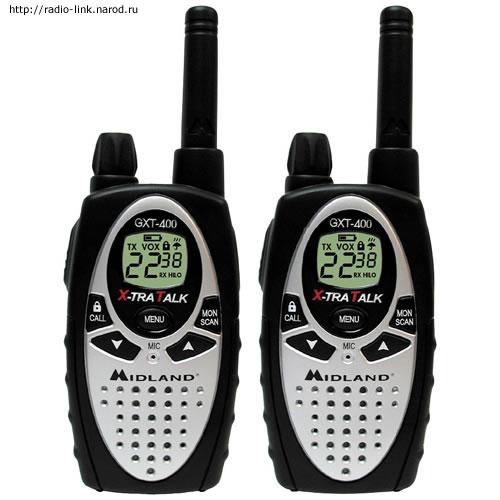 Радиостанция Midland GXT400.